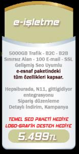 E-Ticaret Paketi E-İşletme