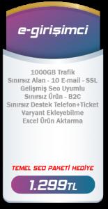 Girişimci E-Ticaret Paketi